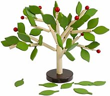 STOBOK Baum holzblock grüne blätter gebäude