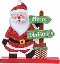 STOBOK Holz Frohe Weihnachten Brief Zeichen