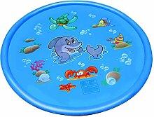 STOBOK Splash Pad Aufblasbares Hai-Wasserspielzeug