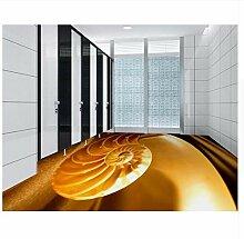 Stock 3D Tapete Wohnzimmer Conch Muster Badezimmer