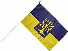 Stockflagge / Stockfahne Stadt Hagen + gratis Sticker, Flaggenfritze®