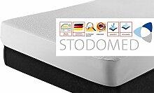 STODOMED Matratzenschoner 90x200 Matratzenauflage Milbenschutz Allergieschutz Hygiene, Größe:90 - 100x200 Matratzenschutz
