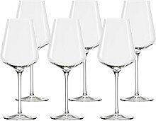 Stölzle Bordeaux-Glas, 6er-Set Quatrophil