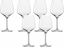 Stölzle Burgunder-Glas 6er-Set Experience