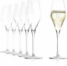 Stölzle Lausitz Champagnergläser Quatrophil