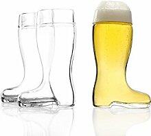 Stölzle Oberglas Bierstiefel 0,25l - mit