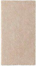 STOENSE IKEA Kurzflor Teppich in elfenbeinweiß;