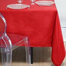 Stof n67087005140x 140cm 100% Polyester Tischdecken, Ro