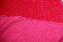 Stoff / 100cmx140cm / Kinder / beste Fleece-Sweat-Qualität / Alpenfleece (Sweat/Fleece) uni pink