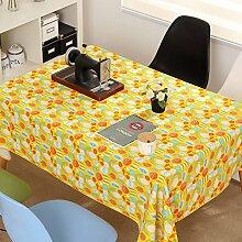 Stoff Baumwolle Leinen Vintage Tisch Tuch/Tee Tischdecke-A 45x45cm(18x18inch)