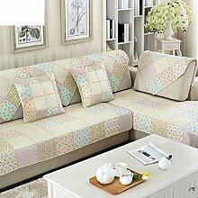 Stoff Baumwolle Slip Sofakissen/Europäische four Seasons allgemeine Sofa einfache Servietten-I 90x90cm(35x35inch)