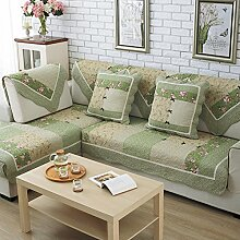 Stoff Baumwolle Slip Sofakissen/Europäische four Seasons allgemeine Sofa einfache Servietten-G 70x140cm(28x55inch)