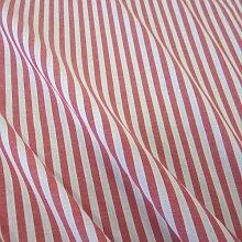 Stoff Meterware Bauernstreifen rot weiß Streifen