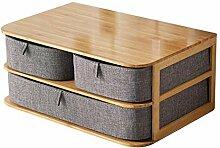 Stoff schubladenbox aufbewahrungsbox, Bürobedarf