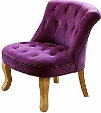 Stoff Sessel aus Holz Sofa Stuhl Minimalist Wohnzimmer Schlafzimmer Stuhl Sofa Hocker (Farbe optional) ( farbe : # 4 )