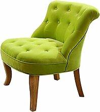 Stoff Sessel aus Holz Sofa Stuhl Minimalist Wohnzimmer Schlafzimmer Stuhl Sofa Hocker (Farbe optional) ( farbe : #1 )