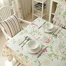 Stoff Streifen Tischdecke/Moderner Couchtisch-tuch/Frischen Einfachen Amerikanischen Tischdecke-A 110x110cm(43x43inch)