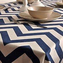 Stoff-tischdecke/aus baumwolle und leinen tischdecken/tee tischdecke/tischtuch-A 140x250cm(55x98inch)