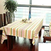 Stoff-tischdecke/Bambus Blume Tuch/Tuch Zu Hause/American Land Tisch Tuch Tischdecke-B 140x140cm(55x55inch)
