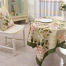 Stoff Tischdecke Baumwolle American Puzzle Runde Tischdecke,Couchtischdecke Tuch,Tv-schrank Quadratischen Tischset-A diameter120cm(47inch)