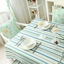 Stoff-tischdecke/Moderner Couchtisch Tischdecke Tabellen/Frischen Einfachen Amerikanischen Tischdecke-B 140x140cm(55x55inch)