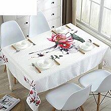 Stoff-tischdecke,Wasserdichte tischdecken,Moderne minimalistische tisch tischdecke,Tischtuch-A 70x70cm(28x28inch)