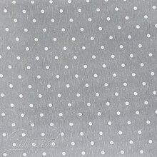 Stoff Zierkissen gepunktet Stickerei Tischdecke Sofa Kissen Haus giosal Al metro grau