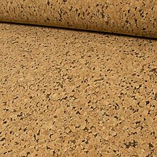 Stoffe Werning Korkstoff beige-braun - Preis Gilt