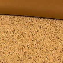 Stoffe Werning Korkstoff rustikal braun - Preis