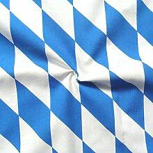 STOFFKONTOR 100% Baumwollstoff Bayern Raute
