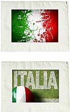 Stoffservietten 2er Set Italien