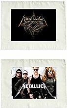 Stoffservietten 2er Set Metallica