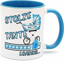 Stolze Tante Loading Tee Tasse Kaffee Becher