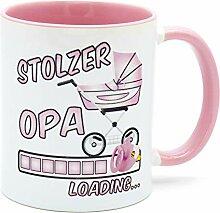 Stolzer Opa Loading Tee Tasse Kaffee Becher