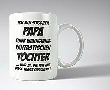Stolzer Papa fun Tasse - Männertag - Vatertag - Geschenkidee - Kaffeepo