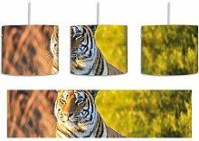 Stolzer Tiger inkl. Lampenfassung E27, Lampe mit