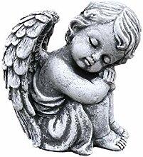 Stone and Style Steinfigur sitzender Engel,