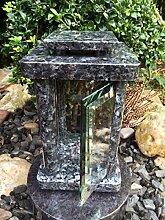 Stone & More Design Grablampe Grablaterne aus