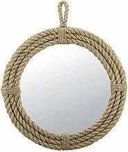 Stonebriar Seil Oval Spiegel mit Schlaufe