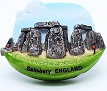 Stonehenge Salisbury England Stone Circle UK 3D Resin TOY Fridge Magnet Schiff frei