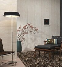 Stones & Style Tapete 13052-10 Tapete Holzoptik Holz beige