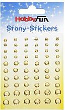 Stony Sticker * rund - champagner * Aufkleber