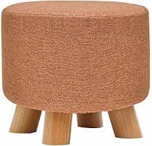 stool Massivholz-Fußhocker - Heim-Stoffsofa,