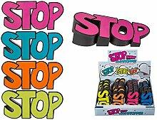 Stop Türstoper in Gummi 2mm - 26 mm 4-farbig sortier