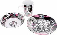Stor Set Frühstück Keramik Monster High