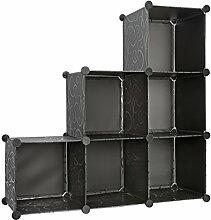 Storage Cube Organizer Mülleimer mit 3Ebenen
