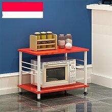 storage rack Kreative Küche Regale Mikrowellenofen Regal Multi-Regal Multifunktions-Regal Regal Regalboden Regal Cabinet shelf ( Farbe : C )