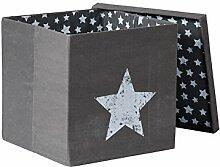 STORE.IT 672968 Ordnungsbox mit Deckel, 70% Canvas