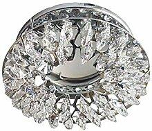 Strahler Metall chrom poliert und Kristall