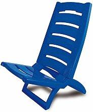 Strand Stuhl Gefärbt Faltbar Plastik Niedrig